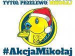 Żółto-niebieski Mikołaj