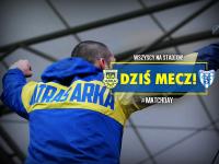 Dziś o 17:30 widzimy się na stadionie w Gdyni!