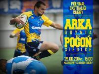 Rugby: Arka vs Pogoń w niedzielę o finał
