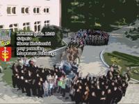 """""""Żywa"""" kotwica z okazji 71. rocznicy Powstania Warszawskiego 1.08.2015 godz. 16:20 Skwer Kościuszki"""