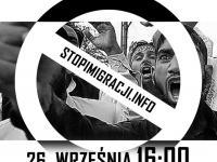 Manifestacja antyimigracyjna - sobota godz. 16:00 - Urząd Miasta Gdynia
