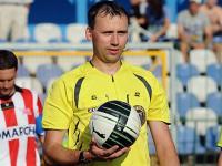 Paweł Pskit arbitrem Arka - Legia