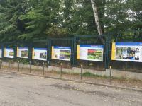 Wystawa o Arce przy ul. Ejsmonda