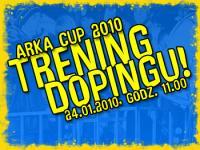 Trening dopingu na Arka Gdynia Cup 2010!