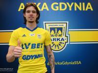 Oskar Zawada piłkarzem Arki