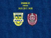 We wtorek sparing z CFR Cluj