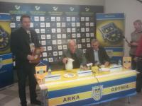 Trenerzy po meczu Arka - Polonia