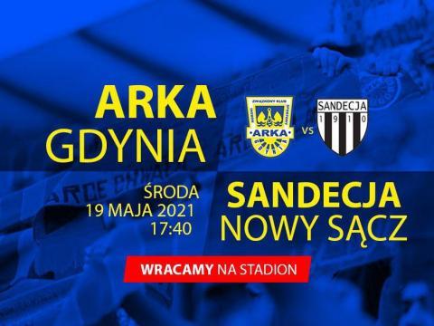 Bilety na mecze z Sandecją i Widzewem od poniedziałku 10 maja!