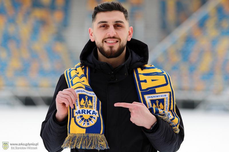 Haris Memić piłkarzem Arki
