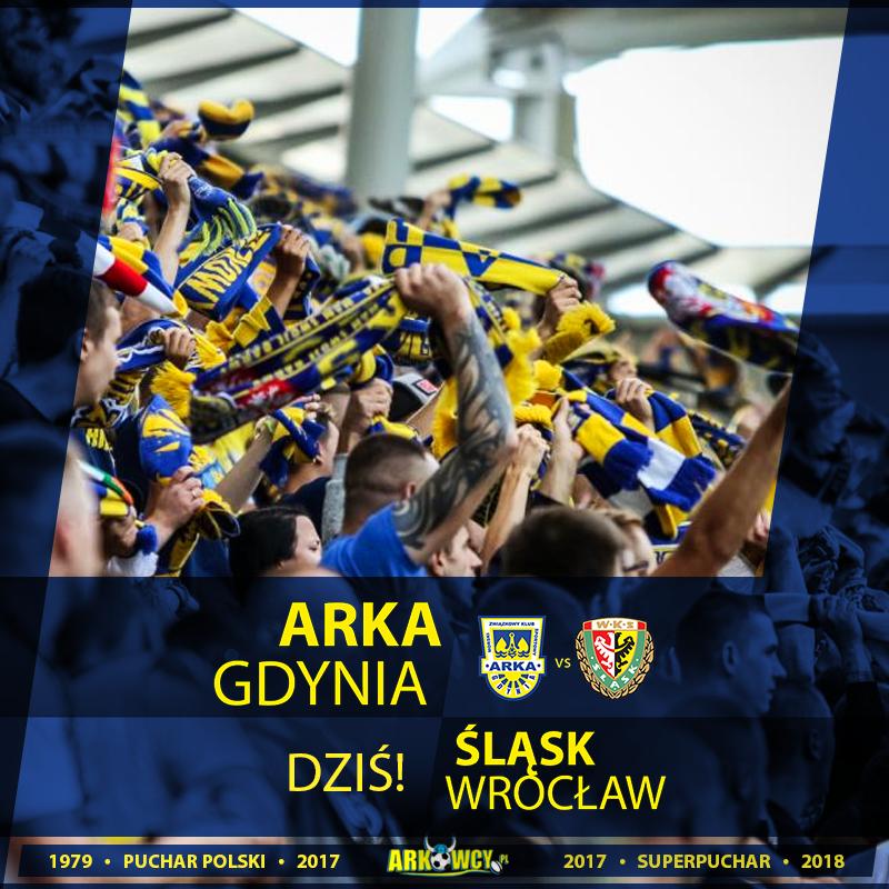 LIVE: Arka Gdynia - Śląsk Wrocław (relacja radiowa)