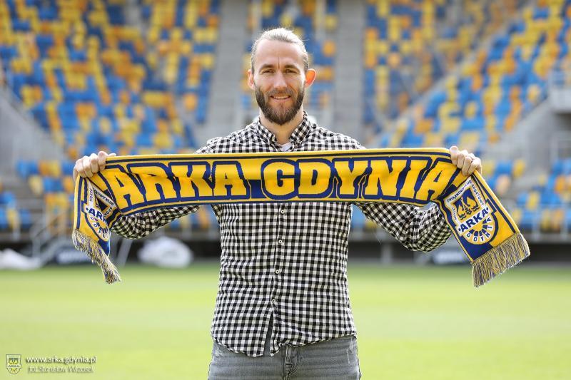 Jan Hosek piłkarzem Arki